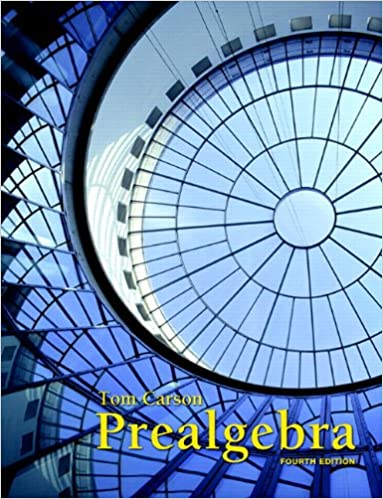 Prealgebra 4th edition tom carson 9780321756954 amazon books prealgebra 4th edition 4th edition fandeluxe Gallery