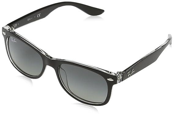a626a8c55c Image Unavailable. Image not available for. Color  Ray-Ban Kids   0rj9052s70221147junior New Wayfarer Square Sunglasses MATTE BLACK ...