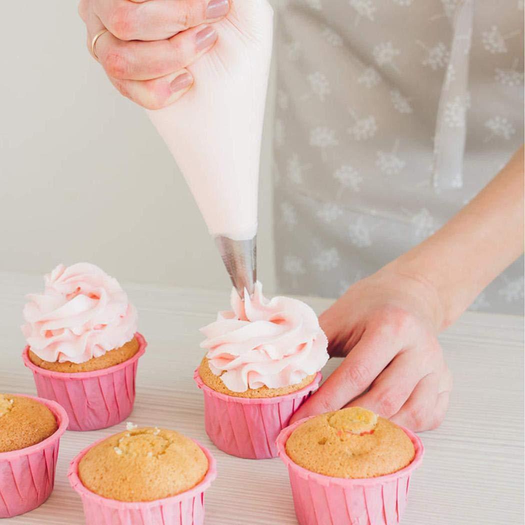 Kindsells 42 Pieces/Set Cake Decoration Nozzle Tools Set Cream Cake Making Tool Kitchen Tool by Kindsells (Image #4)