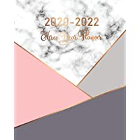 2020-2022 Three Year Planner: Marble Cover | 3