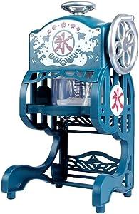 Mini Ice Crusher Household Electric Ice Machine Snowflake Ice Machine Ice Machine (Color : Sky Blue, Plug Type : AU)