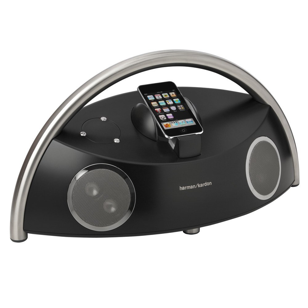 Harman Kardon Go+Play Micro Speaker System for iPod (Black)