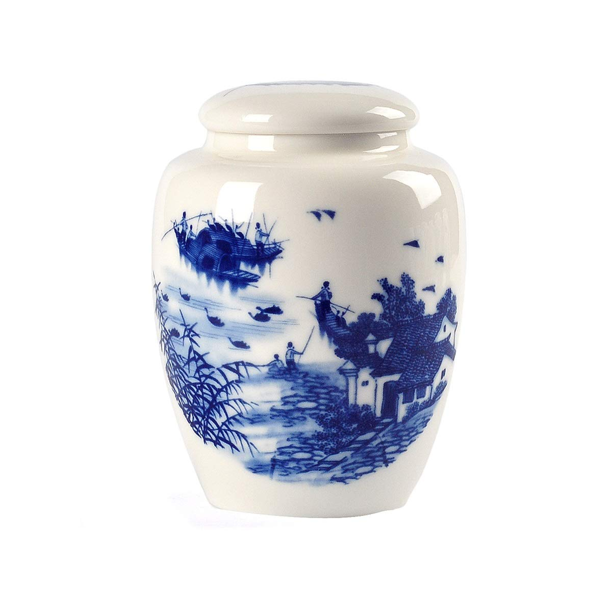 B 11.811.8cmHengtongtongxun Pet Urn,Cremation Urns for Pets,Functional Urn,Ceramic Sealed,Keepsake Box for Dogs and Cats,Tea Can,Artwork,Home Decoration,11.8  11.8cm Soul Place (Size   11.8  11.8cm, Style   F)