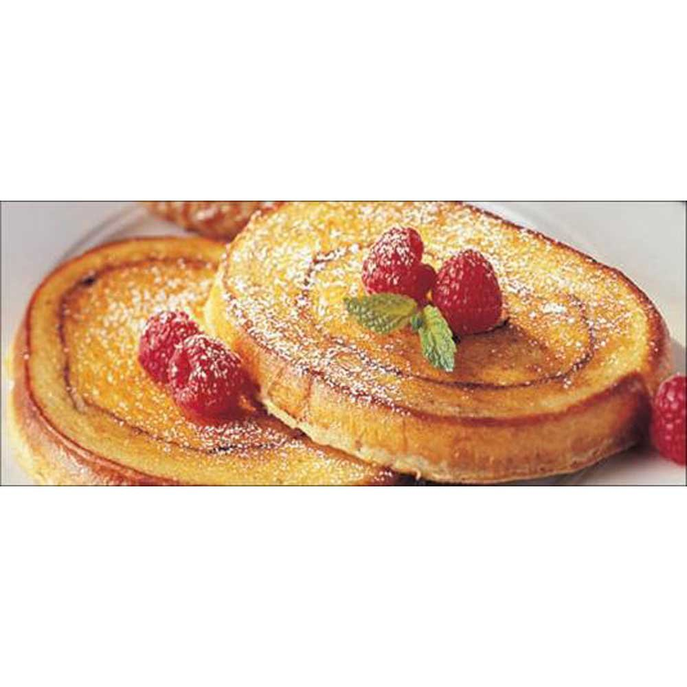 Michael Foods Papettis Cinnamon Swirl French Toast, 2.5 Ounce -- 100 per case. by Michael Foods