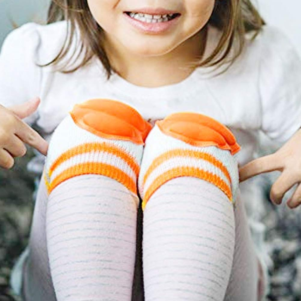 WAKEUPGO 3 Paare atmungsaktive elastische Unisex S/äugling Kleinkind Baby Knieschoner Knie Ellenbogen Pads kriechen Sicherheit Schutz