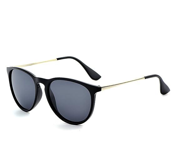 DICSSIN Gafas de Sol para Mujer Redondas Ojo de Gato Elegante polarizadas Protección UV: Amazon.es: Hogar