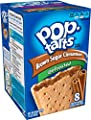 Pop-Tarts Breakfast Toaster Pastries, Unfrosted Brown Sugar Cinnamon Flavored, 14 oz, 8 count(Pack of 12)