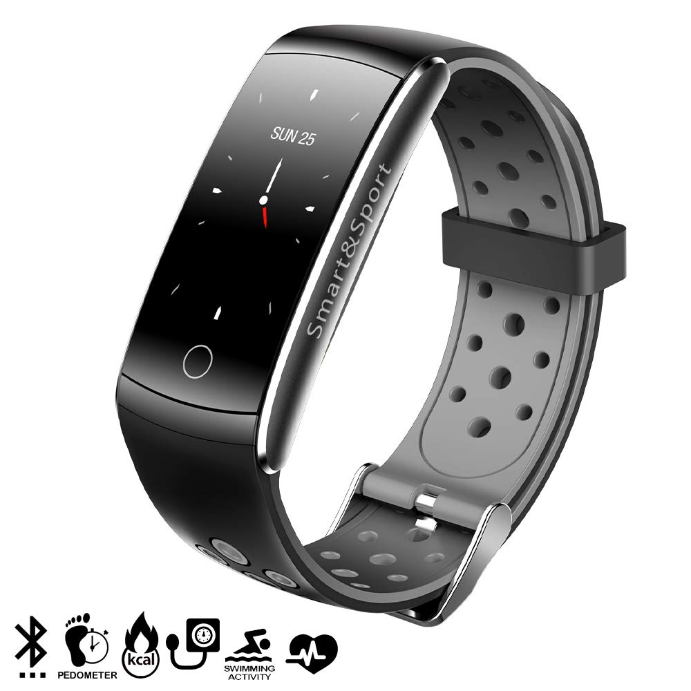 DAM Tekkiwear - Pulsera Inteligente Bluetooth 4.0, Color Negro