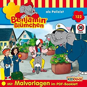 Benjamin als Polizist (Benjamin Blümchen 122) Hörspiel