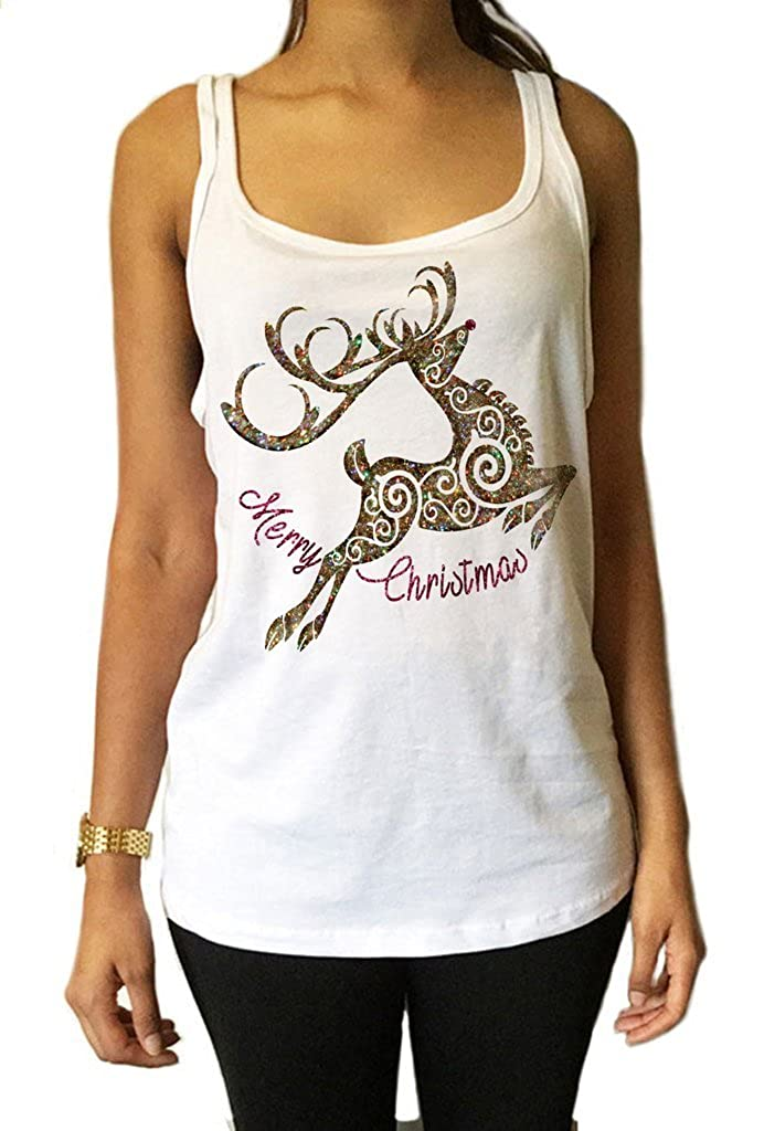 Women's Tee /'Prosecco made me do it/' funny champagne glitter effect Print TS1160