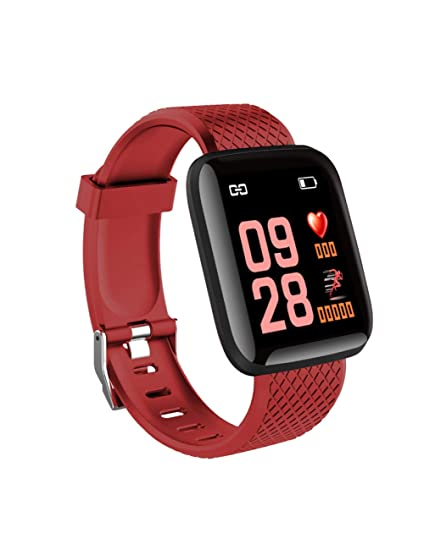 DZKQ Smart Watch Hombres Presión Arterial Impermeable ...
