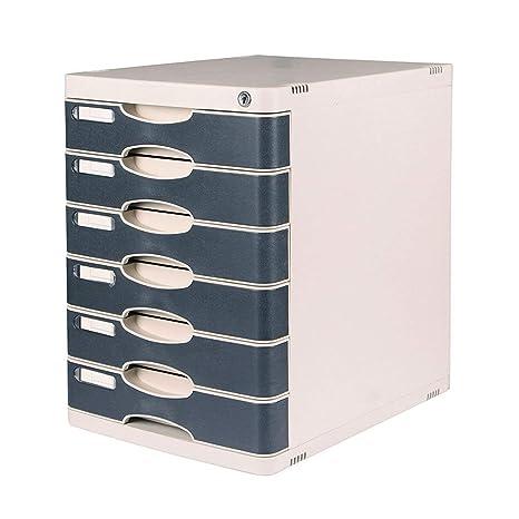 Amazon.com: File Cabinets 6 Layers Lockable Desktop Plastic ... on