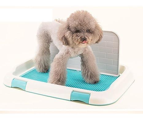DAN Perros Animal-WC inodoro perros bandeja para entrenar perros mascotas para con pared ,