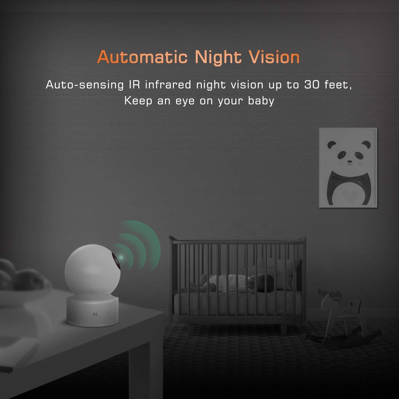 1080P Wireless Smart Home Indoor Baby IP Security Xiaomi Camera ...