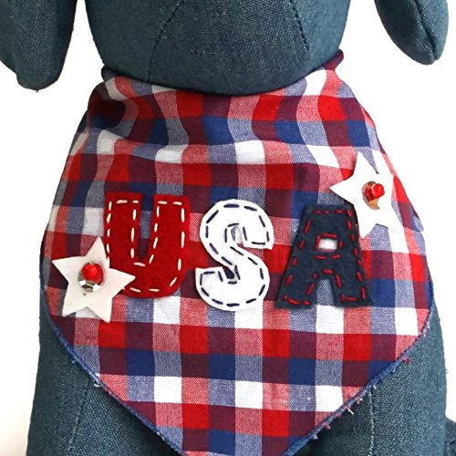 USA Dog Bandana Patriotic