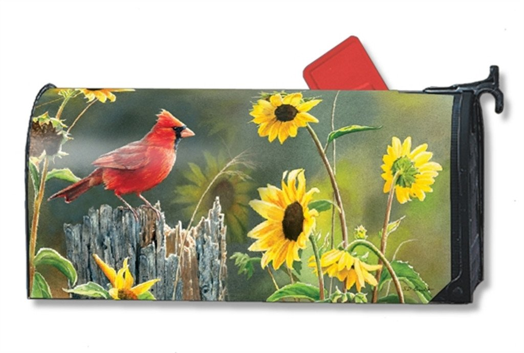 Magnet Works Mailbox Cover - Cardinal View 00115