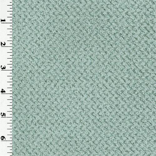 Polartec Curly Fleece - Vapor Blue, Fabric By the Yard (Fleece Curly Fabric)