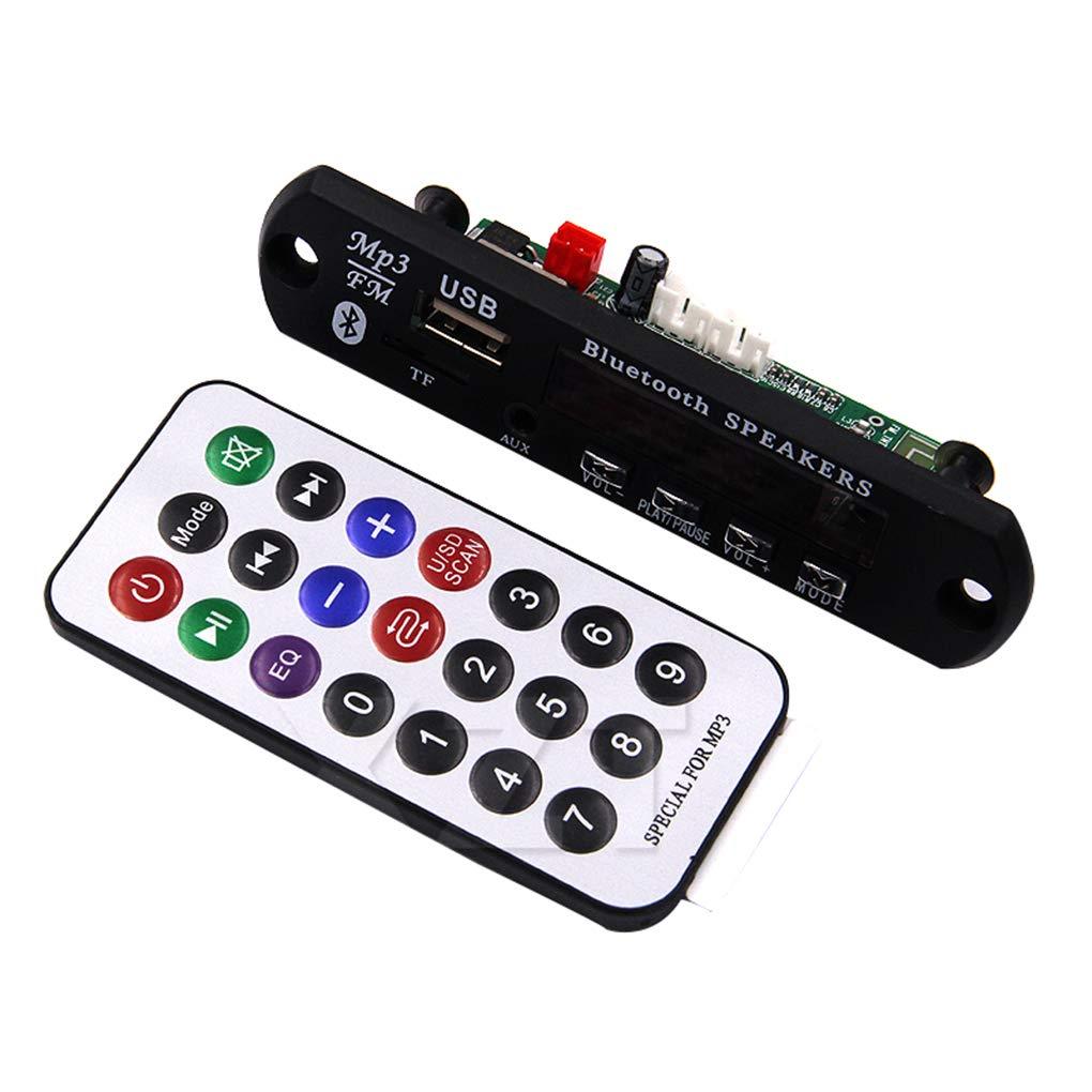 Morza TF Radio PCBA Accessori Auto Carta di MP3 Senza Fili di Bluetooth 12V Reader Decoder Consiglio Modulo Audio FM USB