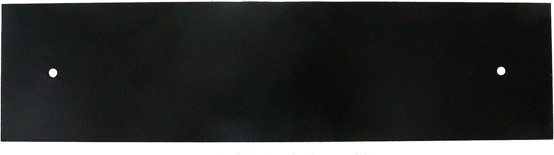 "NACH KA House Address Sign/Plaque - Plain, 4 Numbers, Iron, 16.5 x 4 x 1"""