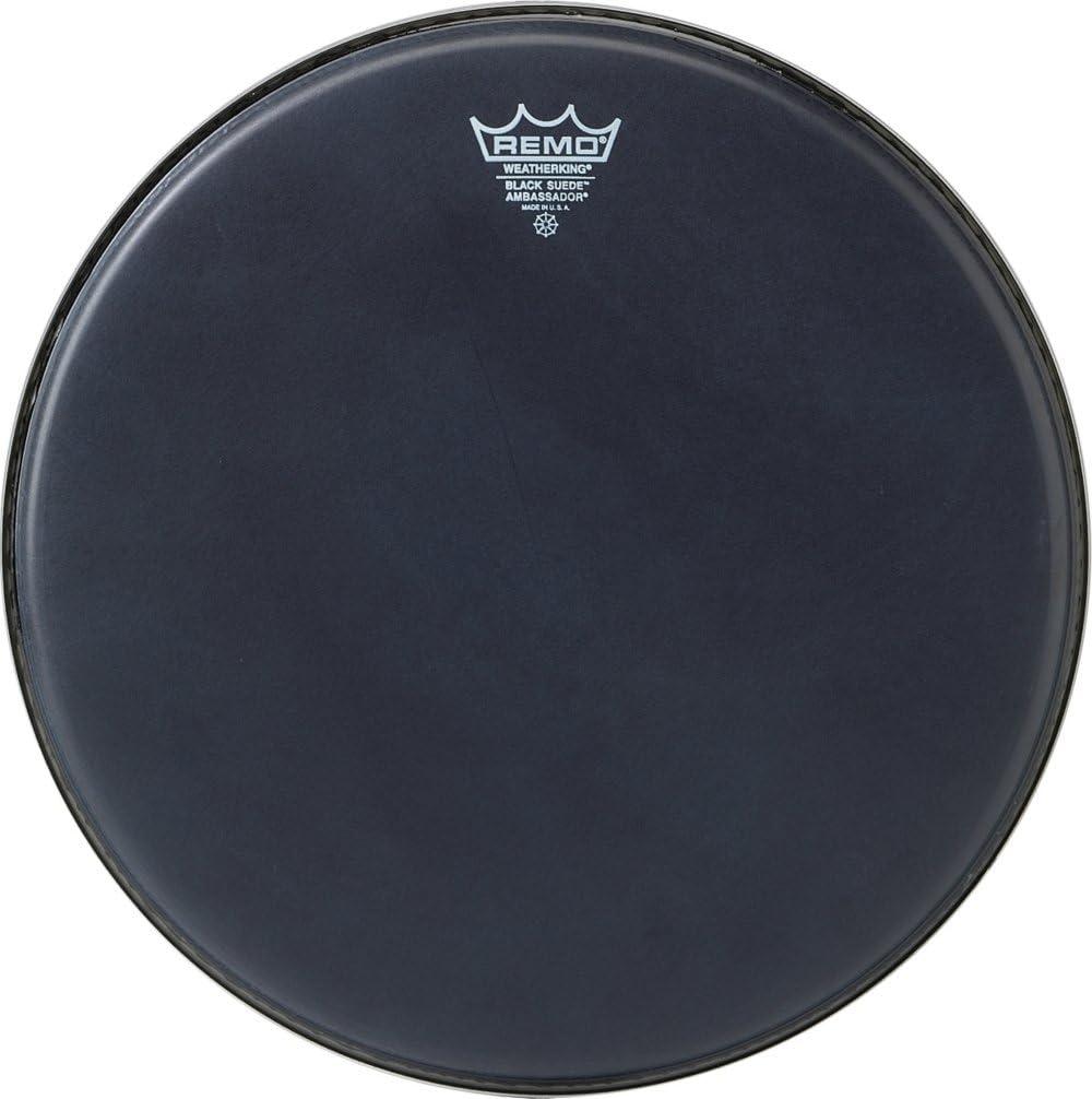 14 Remo Ambassador Black Suede Drumhead