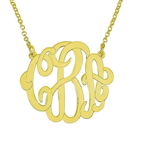 monogram jewelry cheap