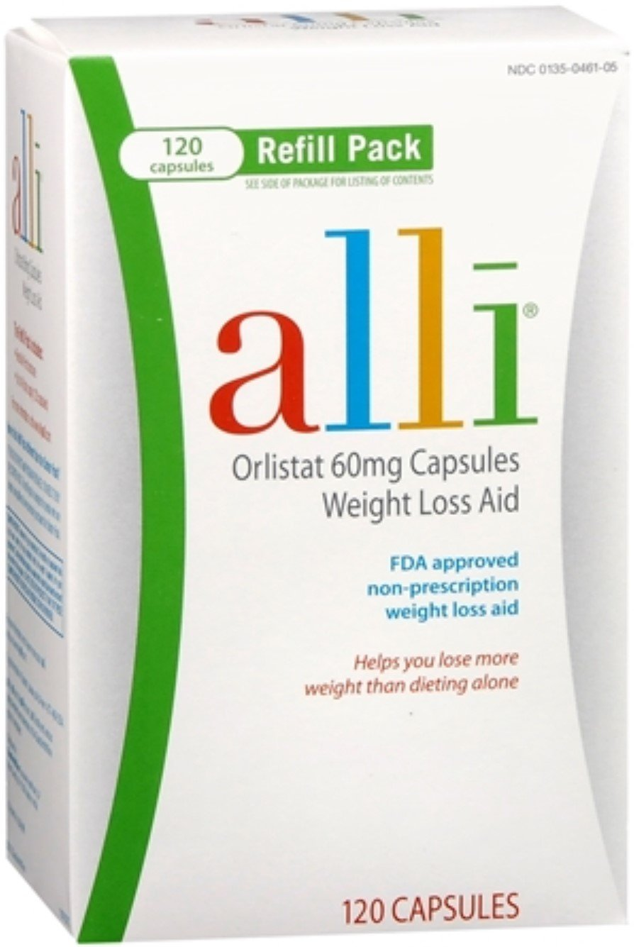alli Refill Pack 120 Caps (Pack of 6)