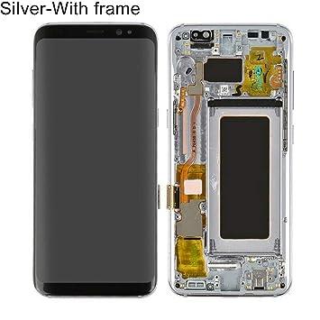 HeDIANz - Pantalla táctil digitalizador LCD para Samsung Galaxy S8 ...