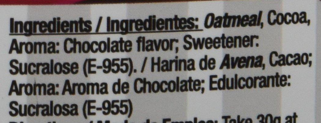 Quamtrax Nutrition Chocolate Avena Instantánea - 2000 gr: Amazon.es: Salud y cuidado personal