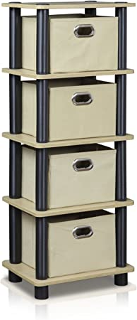 4-Bins System Rack