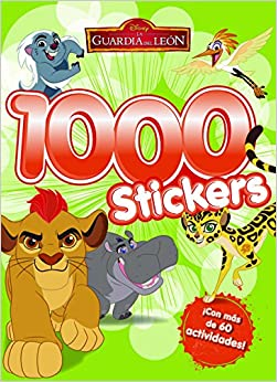 La Guardia del León. 1000 stickers: Libro de actividades