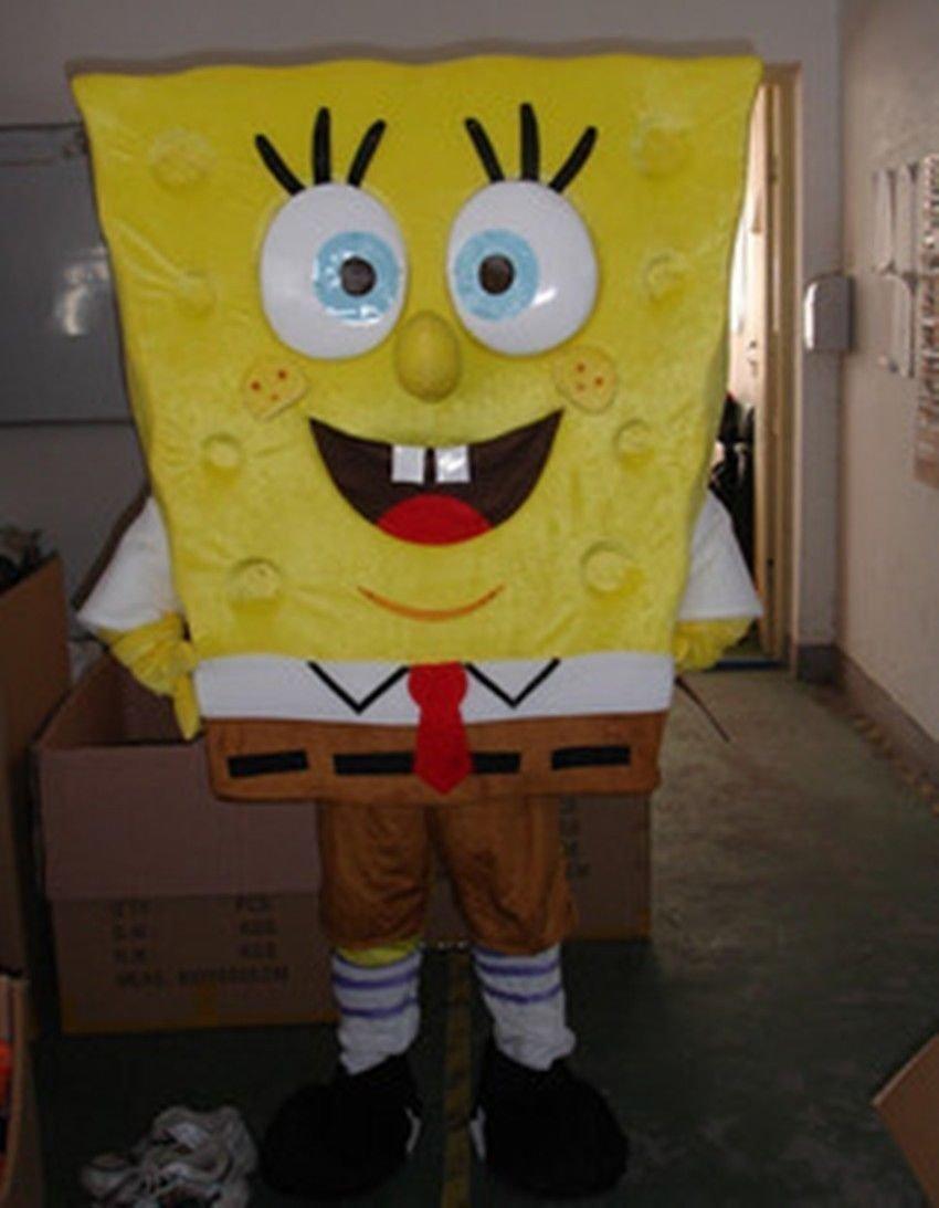 SpongeBob Schwammkopf Kostüme New Bob Esponja - Disfraz de Mascota ...
