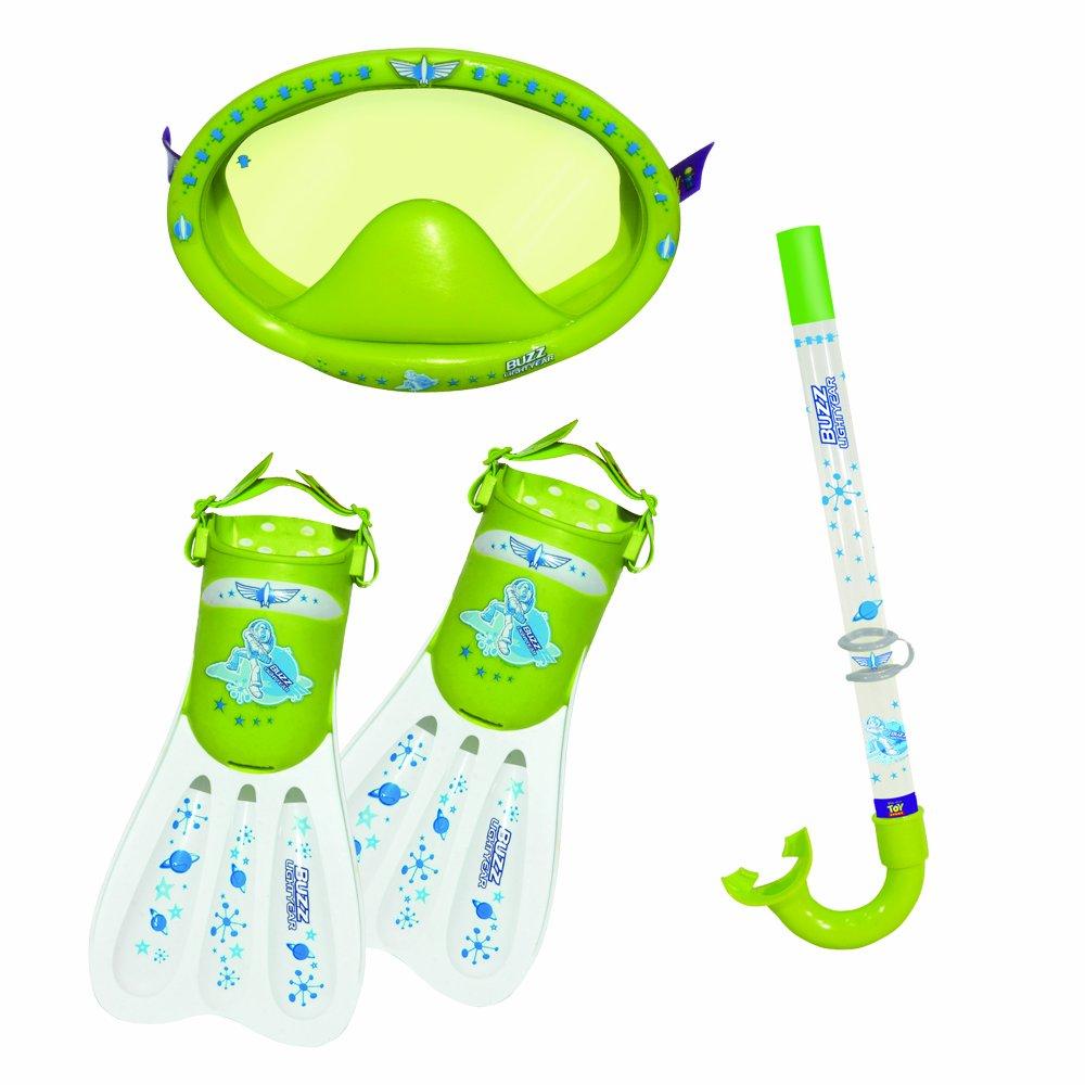 Eolo Gayla DS902TS Story Toy Set de gafas tubo y aletas