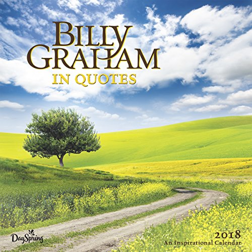 New 2019 Wall Calendar - Billy Graham Quotes 2jKw6yW1