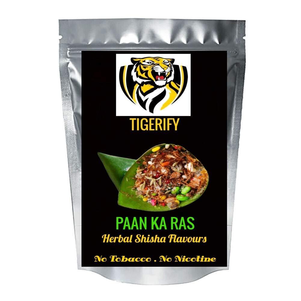TIGERIFY Hookah Shisha Herbal Paan Ka Ras Flavour, 50 g