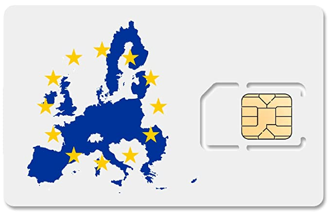 Amazon.com: 1 GB de datos prepagados de Europa SIM de datos ...