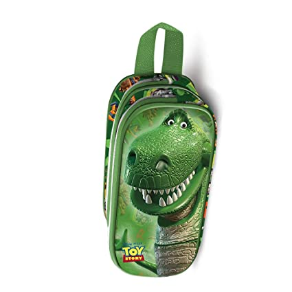 Amazon.com: Karactermania Toy Story Rex-estuche Portatodo 3d ...