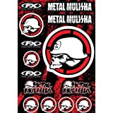 Factory Effex 16-68052 Metal Mulisha Sticker Kit 2