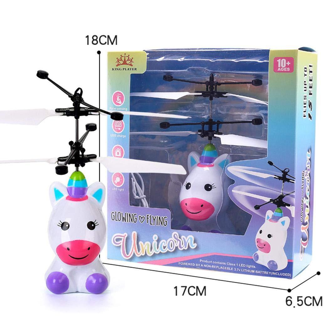 Ladiy Children Mini Infrared Sensing Lighting Flying Toy USB Charging Toy Electronic Toys by Ladiy