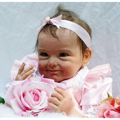 "NPK 55 cm Renacer de la Muñeca Mano Realista Muñeca Reborn Dolls Bebé 22"" Newborn doll"