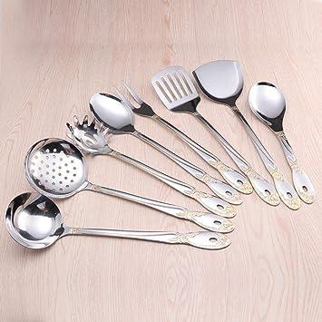 Ambiguity Juego de utensilios de cocina Acero inoxidable set ...