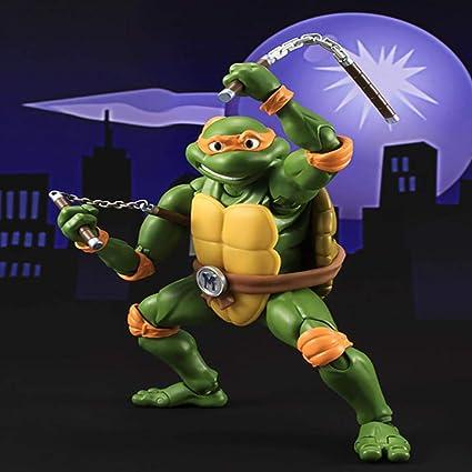 AIYL 15cm Las Tortugas Ninja Animado Figura Colección Modelo ...