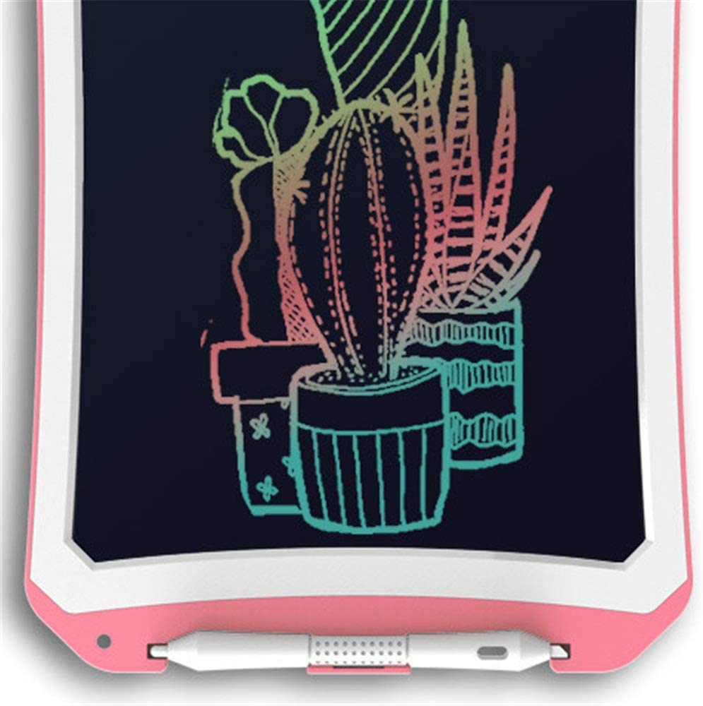 Color : Pink, Size : 10 inches LORGDFDF Creative Colorful LCD Electronic Writing Tablet Handwriting Paper Drawing Tablet at Home and Outdoor Easy to Carry