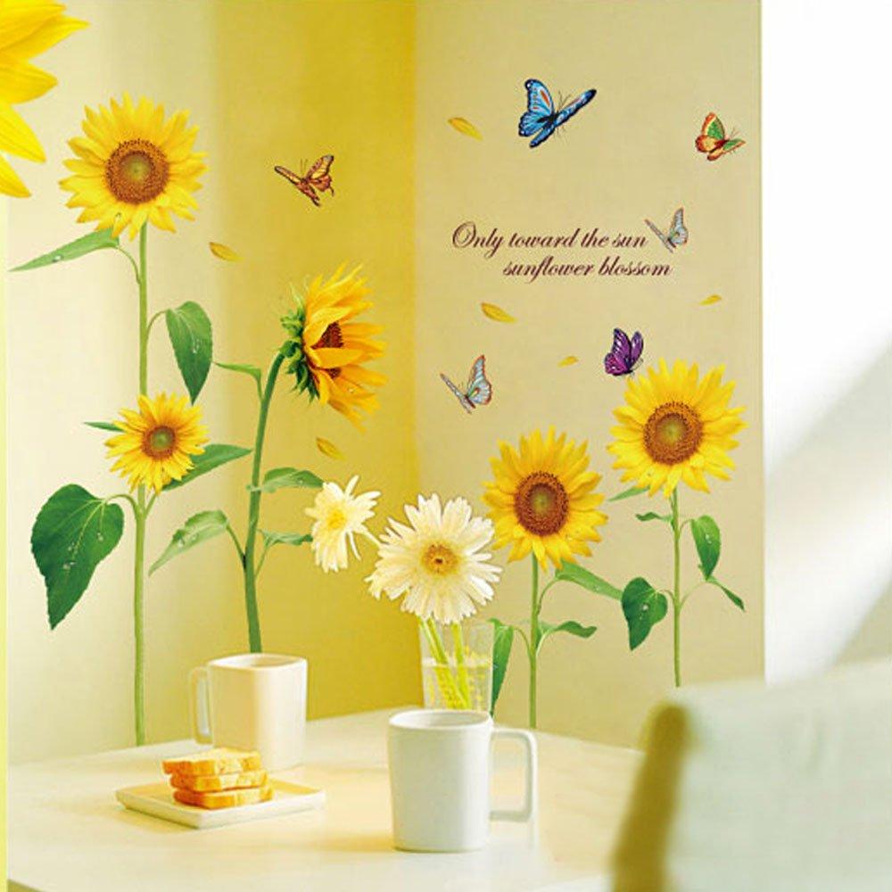 Amazon.com: Decoration Wall Sticker Wall Mural Home Decor Room ...