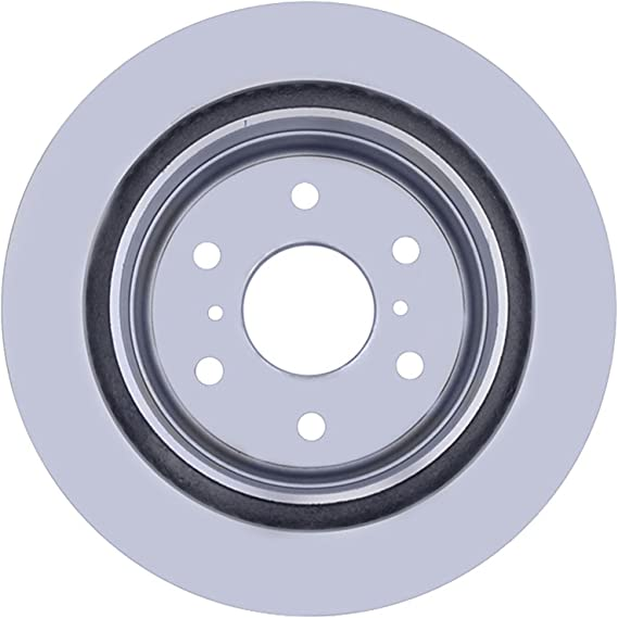 ACDelco 18A2332AC Advantage Coated Rear Disc Brake Rotor