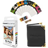 Polaroid 2x3 inch Premium Zink Photo Paper (50 Sheets)(Compatible with Polaroid Mint, Snap, Touch, Zip, Z2300)