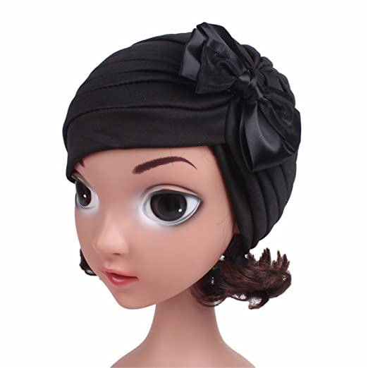 Qhome Girls India Hat Kids Turban Cap Kids Beanie Headband