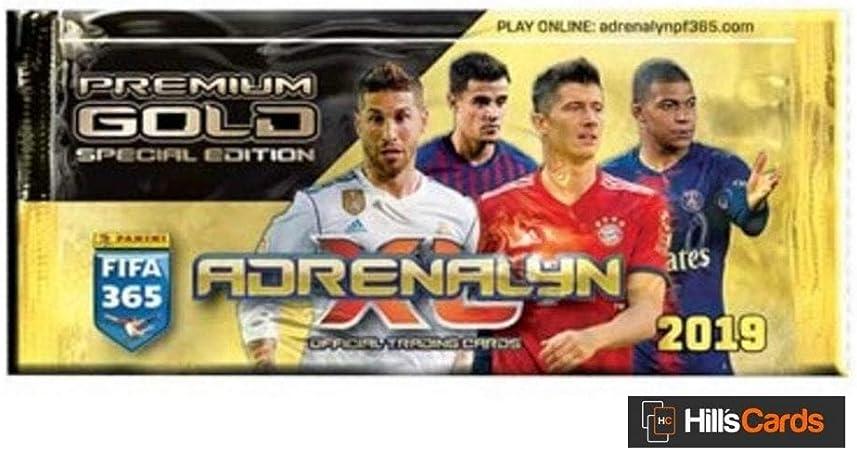 FIFA 365 Adrenalyn XL 2019 Trading Card Premium Box (12 Packs ...