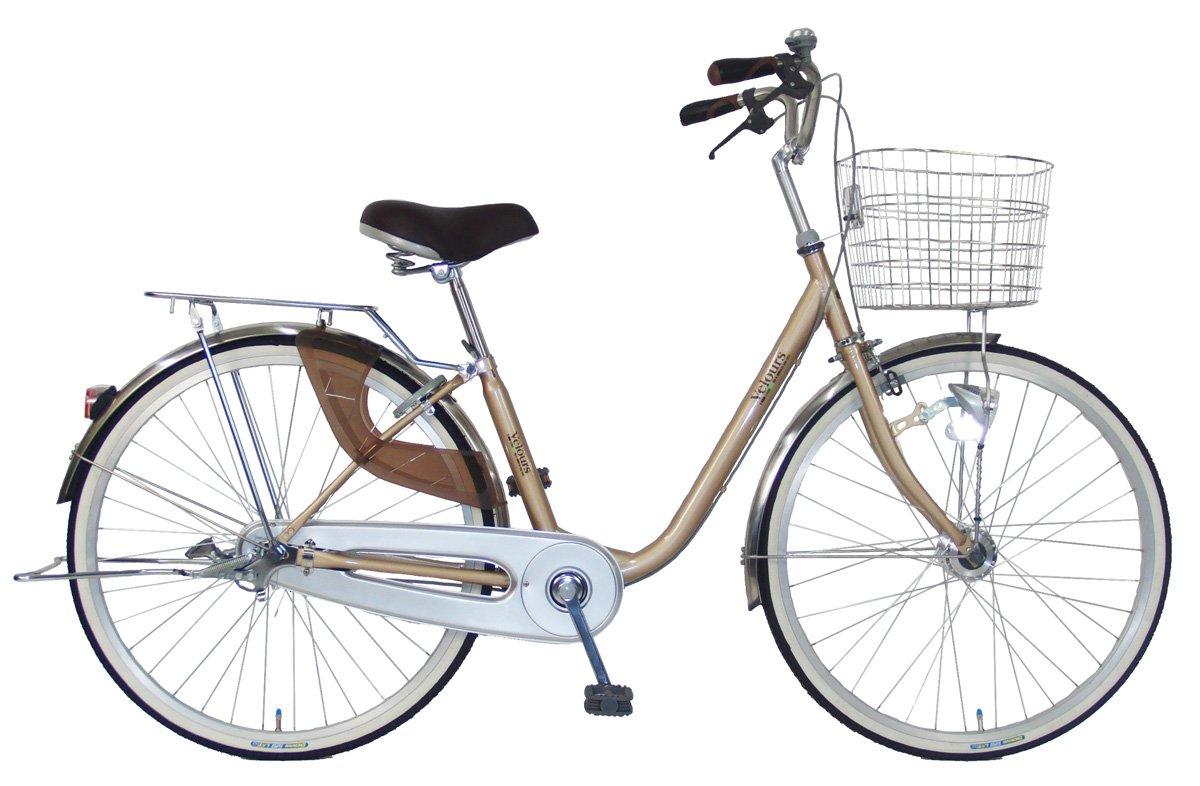 C.Dream(シードリーム) ヴェロアスペシャル VL41-SP 24インチ自転車 シティサイクル ベージュ 100%組立済み発送 B079HLXWRQ
