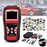 OBD2 Code Reader,Car Diagnostic Scanner Engine Tester Eerror Erase Tool Auto Live Date Color Display for US Asian European Cars kiwitatá