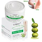 Foot Cream, Foot Mask , Callus Remover Cream , Foot Repair Cream with olive oil Moisturizes and Rehydrates Feet - For Thick, Cracked, Rough, Dead & Dry Feet